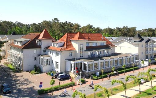 Strandhotel Baabe von außen