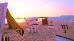 Ostseestrand im Abendrot