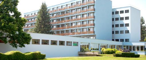 Kurhotel Smaragd im slowakischen Kurort Dudince