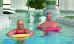 Paar im Schwimmbad der Vogtlandklinik