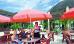 Open-air-Café der Vogtlandklinik