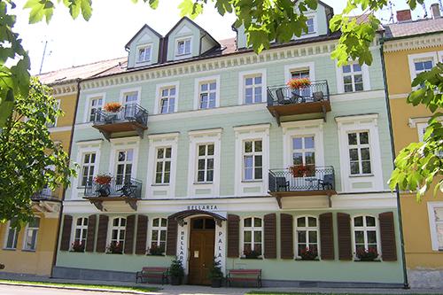 Hotel Palace Bellaria in Franzensbad