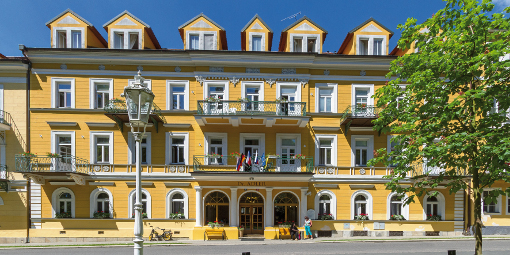 Kurhotel Dr. Adler in Franzensbad
