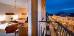 Komfort-Doppelzimmer mit Balkon zur Promenade