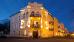 Kurhotel Metropol bei Nacht