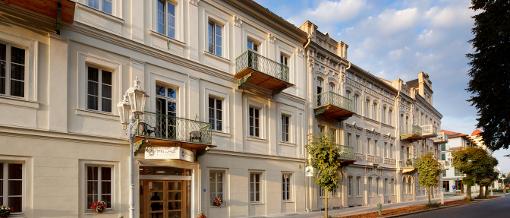 Die Gebäude des Spa-Hotels Praha