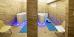 Blick in 2 Räume mit Wellness-Badewannen