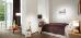 Einzelzimmer-Wohnbeispiel mit Balkon
