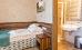 Einzelzimmer-Wohnbeispiel mit Badzimmer