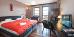 Doppelzimmer-Wohnbeispiel des Hotel Sudetia