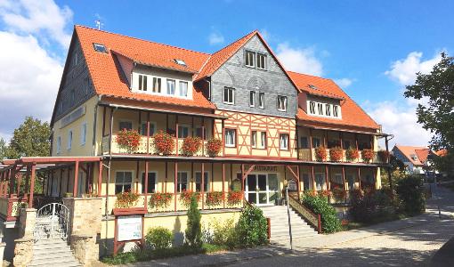 Kurhotel Bad Suderode von außen