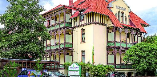 das Bad-Harzburger Vitalhotel am Stadtpark von außen