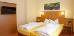 Doppelbett in der Suite