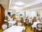 Blick in den Speiseraum des Hotels Astoria