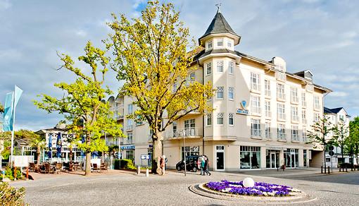 Außenansicht Aquamarin Hotel & Spa Kühlungsborn