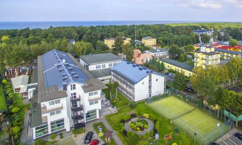 Kurhaus Akces in Kolberger Deep