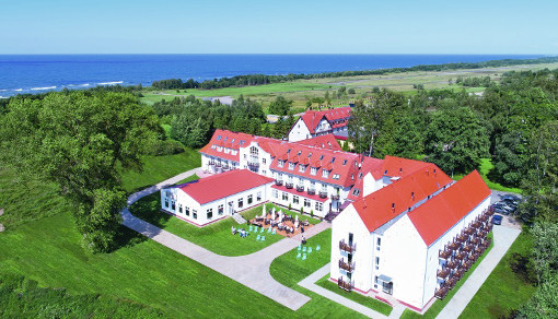 Hotel Mona Lisa Boutique Wellness & Spa in Podczele, unweit der Ostsee