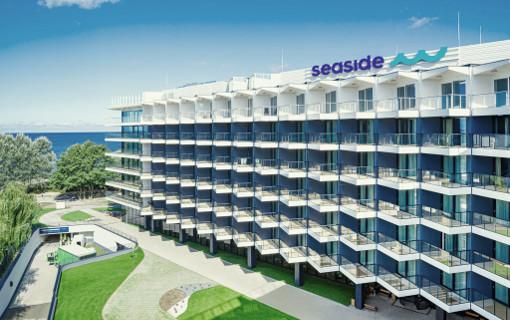 VAußenansicht des Kolberger Hotels Seaside Park