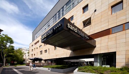 Das Kolberger Hotel Sand mit Eingang