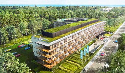 Das Kolberger Radisson-Resort in der Gesantansicht
