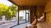 Sauna mit Terrasse