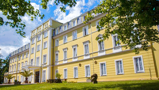 Kurhotel Prusik von außen