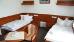 Doppelzimmer-Beispiel mit auseinander stehenden Betten