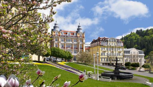 Hvězda Ensana Health Spa Hotel am Marienbader Goetheplatz