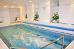 Schwimmbecken des Hotels Maxim (beide Häuser sind miteinander verbunden)