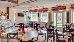 Blick ins Café des Hotels Hvězda