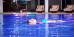 Relaxen im Schwimmbecken des Spa-Flügels