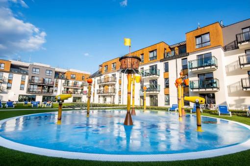 Bel Mare Resort in Misdroy, mit Pool