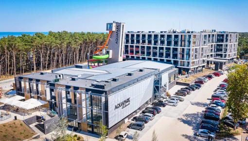 Aquapark und Hotel Zalewski in Mrzezyno