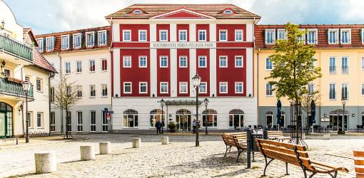 Kulturhotel Fürst-Pückler-Park am Marktplatz