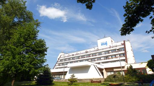 Medical-Wellness-Hotel Maj von außen