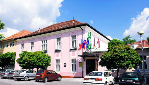 Hotel Pro Patria im Rheumaheilbad Pistyan