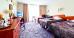 Doppelzimmer-Wohnbeispiel im Lidia-Spa-Gebäude
