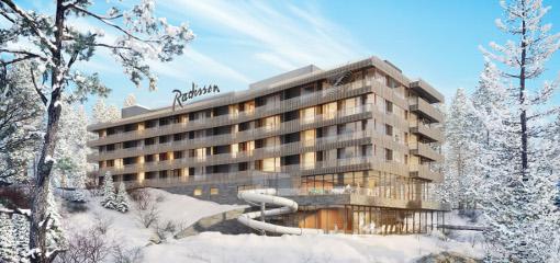 Radisson Hotel Szklarska Poręba im Winter