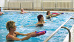 Wassergymnastik im Bassin