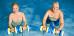 Seniorenpaar bei der Wassergymnastik