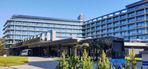 Spa-Hotel Hamilton Swinemünde von außen
