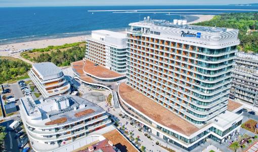 Hotelanlage Radisson Blu Świnoujście
