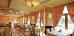 Speiseraum des Hotels Rezydent